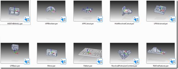 Feature recognizer sample