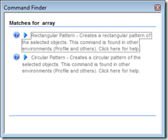 Command search