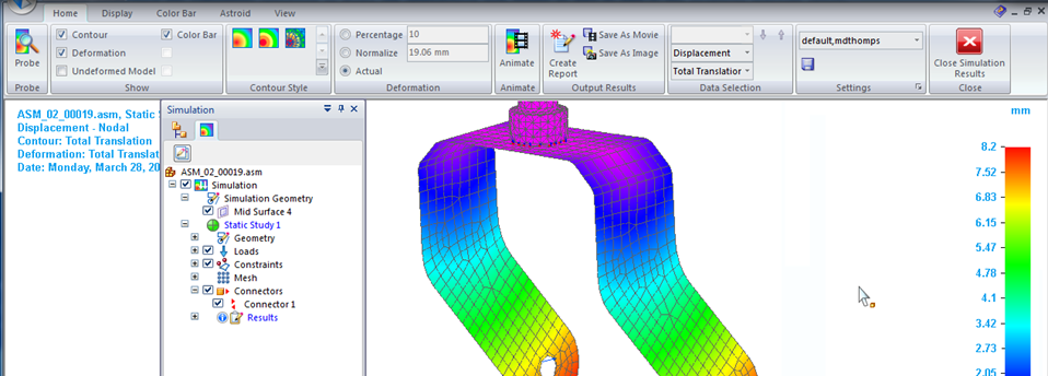 Solid Edge ST4 preview – Simulation for sheet metal design